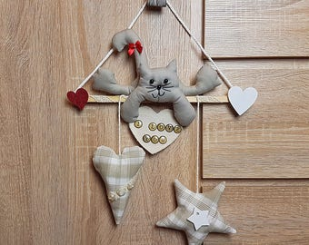 Sweet Kitty - Hanging decoration