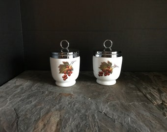 Pair of 1970's Egg Coddlers