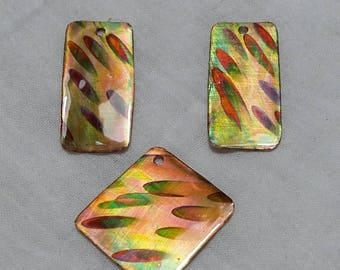Copper Earring Components