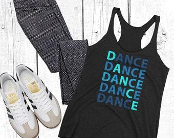 Dance Shirt- Women's Racerback Tank - Dancer - Dance T-Shirt