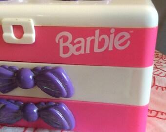 Vintage Barbie Jewelry Box. Vintage Barbie Make Up Box. Vintage Barbie.