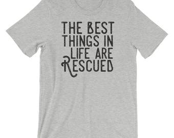 The best things in life are rescued - like dogs and cats!
