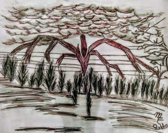 Will's Drawing (Stranger Things)