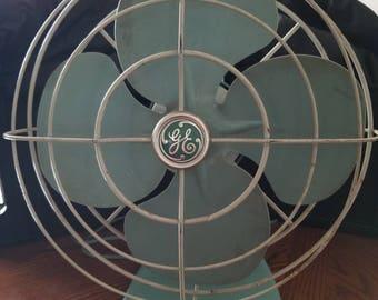 GE vintage 1950s fan