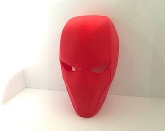 RedHood Mask Wearable - Batman Villian Cosplay