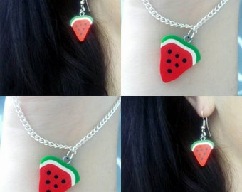 Watermelon pendant gift set
