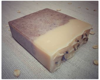 Lavender, oatmeal and honey SOAP / Honey and oat soap lavender