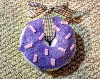 Air Freshener doughnut- Gift - luxury - CREATE YOUR OWN - message for details