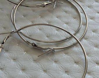 Creole earrings 60 mm
