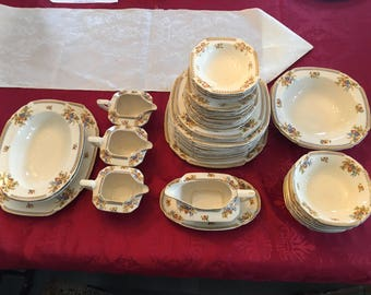 Antique Maddock and Sons 1940s China Set