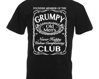 Grumpy Old Men's Club Men's T Shirt