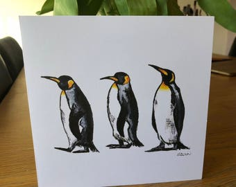 Penguins Card