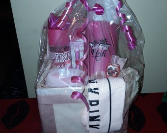 New Victorias secret Pink gift basket!