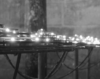 Candlelight in Notre-Dame de Paris
