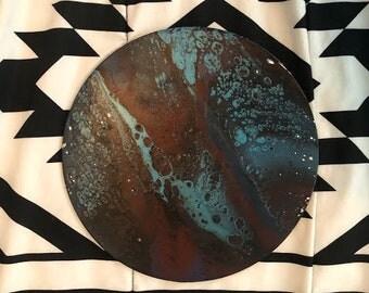 Round Fluid Painting