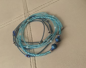 Handcrafted waist beads, bracelets and anklets