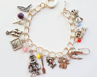 Welcome! Everything is Fine. Charm bracelet inspired by The Good Place.