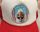"""Youth/Kids Trucker Hat- with """"Yeti"""" Patch"""