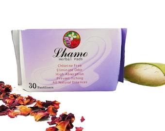 Herbal Panty liners, Herbal Pad, Natural Herbal Essence, Light Flow