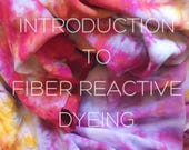 Introduction to Fiber Reactive Dyeing  Workshop for Beginners, Anna Joyce, Portland, OR