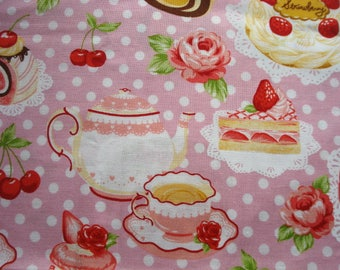Just Desserts Imported Cotton Fabric Last Piece