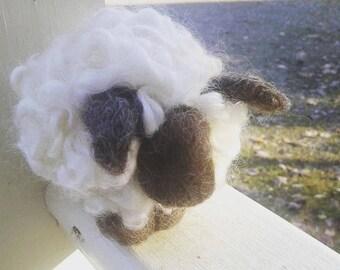 Baa Baa wool sheep - needle felt lamb 1