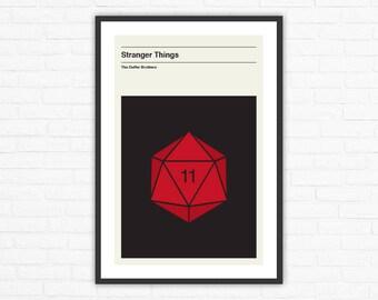 Stranger Things, Minimalist TV Poster