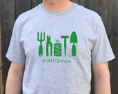 Personalised Mens GardeningT shirt|Father's Day gift|dad gift|daddy t shirt|garden tools print