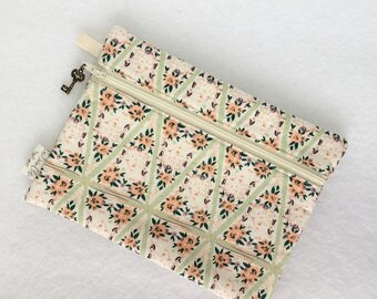 Rectangle Pouch Pencil Case // Winnow Frock Charmed by Bonnie Christine