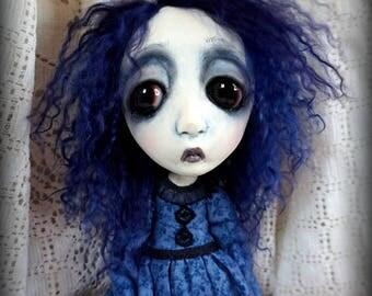Loopy Southern Gothic Art Doll Victorian Dark Goth Ghostly Darby