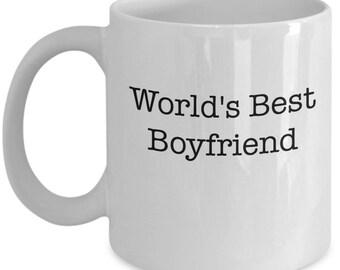 World's Best Boyfriend Coffee Mug
