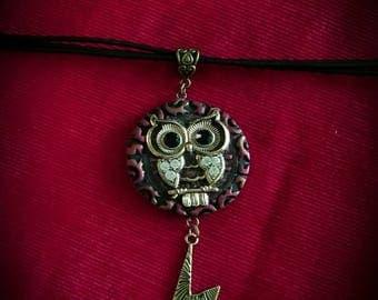 Hegwig Necklace. Gryffindor. Harry Potter. Lightning bolt scar.