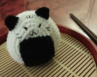 Crochet Original  Onigiri Sushi Cat