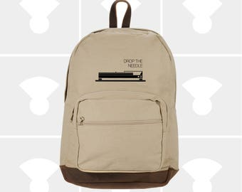 Laptop Backpack - Variety of Turntable Graphics