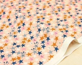 Cotton + Steel Paper Cuts - starstruck - peachy - 50cm