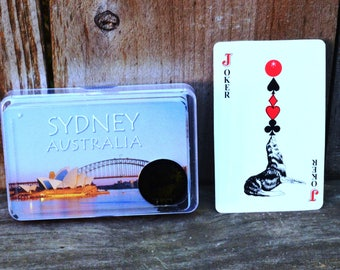 Sydney Australia Playing Cards - Full Deck (Open)