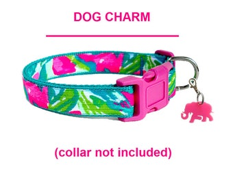 ELEPHANT Dog Charm | Inspired by Lilly Pulitzer TUSK in SUN