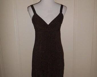 Closing shop SALE 40% off Vintage 90's  short dress   cheetah animal print    dresses 90s