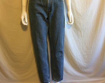 Levis Women's 550 Jeans Relaxed Fit Tapered Leg 7 JR S short Waist W 29  - High Waist - Mom jeans