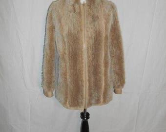 Closing Shop 40%off SALE LILLI ANN San Francisco suede leather   faux fur      jacket  Coat