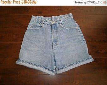 Closing Shop 40%off SALE 90's high waisted waist Jordache jean short waist W 28