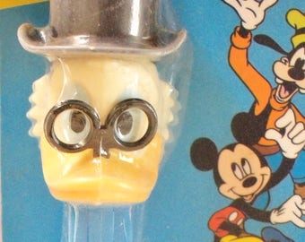 Vintage / PEZ Scrooge McDuck Candy Dispenser / Shrink-Wrapped Condition / Ducktales Series / Foreign Issue