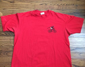 Vintage 80's/90's Mens california dude tshirt. Size XL