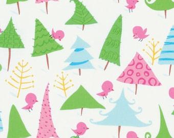 "Designer David Walker's ""Merry Christmas""  Snow Birds in Bright White, yard"