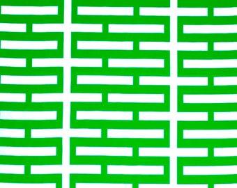 Classic Green - IKEA Avsiktlig Cotton Fabric