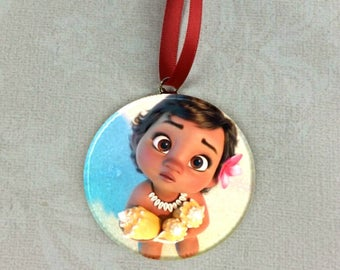 Baby Moana Christmas Tree Ornament