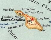 Custom Petite Key Charm Necklace - Catalina Island