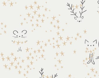 Starbright Frost - Little Town Collection by Amy Sinibaldi for Art Gallery Fabrics - 100% cotton quilting fabric by the yard
