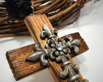 Charming Single Decade Door Rosary for Easter, RCIA, New Homeowner, Graduation, Your Favorite Catholic. Unique Handmade Religious Gift.