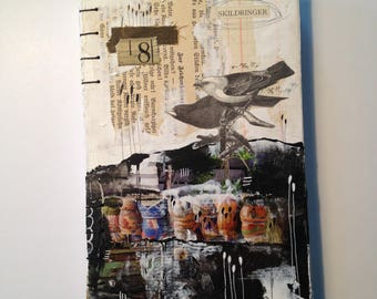Handbound Journal - Birds no. 8